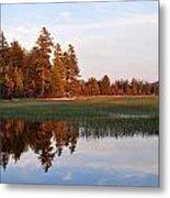 Lake Lila Sunset Metal Print