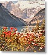Lake Louise Alberta Metal Print