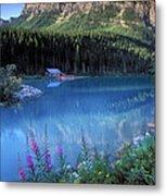 Lake Louise Banff Canada Metal Print