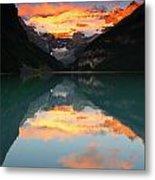 Lake Louise Sunrise Metal Print