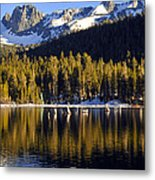 Lake Mary Golden Hour Metal Print