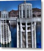 Lake Mead Hoover Dam Metal Print