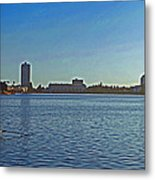 Lake Merrit Metal Print
