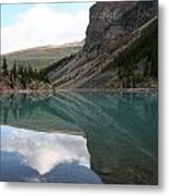Moraine Lake - Lake Louise, Alberta Metal Print