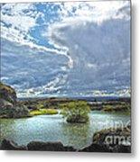 Lake Myvatn - Iceland Metal Print