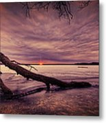 Lake Neatahwanta Metal Print