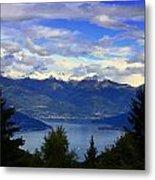 Lake Of Como View Metal Print
