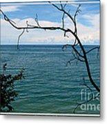 Lake Ontario Near Chimney Bluffs Metal Print