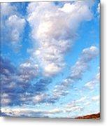 Lake Powell Clouds Metal Print by Thomas R Fletcher