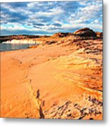 Lake Powell Serenity Metal Print by Thomas R Fletcher