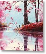 Lake Reflections Metal Print by Graham Gercken