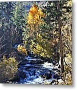 Lake Sabrina Creek Metal Print