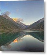 Lake Saiful Muluk Panorama Metal Print
