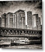 Lake Shore Drive Lsd Metal Print