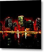Lake Shore Drive Metal Print