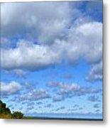 Lake Superior At Whitefish Bay Metal Print