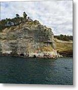 Lake Superior Pictured Rocks 27 Metal Print