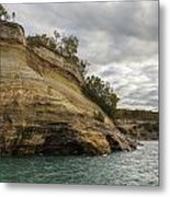 Lake Superior Pictured Rocks 53 Metal Print
