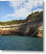 Lake Superior Pictured Rocks 6 Metal Print