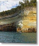 Lake Superior Pictured Rocks 8 Metal Print