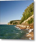 Lake Superior Shoreline Metal Print