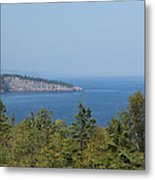 Lake Superior Shovel Point 2 Metal Print