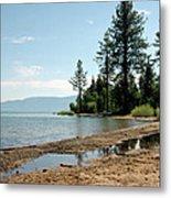 Lake Tahoe Beach Metal Print