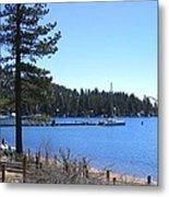 Lake Tahoe Dock Metal Print