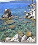 Lake Tahoe Shore Metal Print
