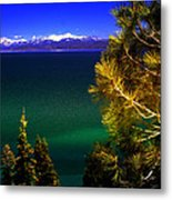 Lake Tahoe Vista Metal Print