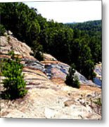 Lake Toxaway Gorge Metal Print by Crystal Joy Photography