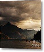 Lake Wakatipu At Sunset Metal Print