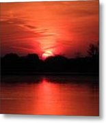 Lake Wingra Sunrise Metal Print