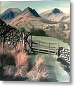 Lakeland View Metal Print