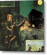 L'amant De La Lune Metal Print