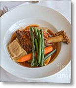 Lamb Shank Metal Print by Louise Heusinkveld