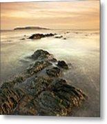 Lambay Island Metal Print