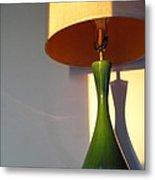 Lamp And Shadows Metal Print