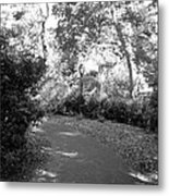 Lamps Of Central Park Metal Print