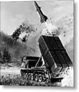 Lance Missile, C1980 Metal Print