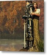 Lancelot And Guinevere Metal Print