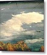 Land Meets Sky Metal Print