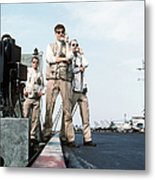 Landing Signal Officers Guide An F-14 Metal Print