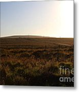 Landscape At Point Reyes California . 7d9958 Metal Print by Wingsdomain Art and Photography