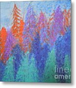 Landscape- Color Palette Metal Print