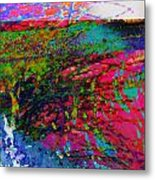 Landscape From Another World Metal Print