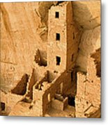 Landscape View Of Square Tower Metal Print