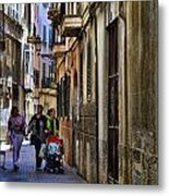 Lane In Palma De Majorca Spain Metal Print