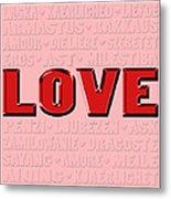 Language Of Love 4 Metal Print