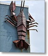 Langusta Lobster Metal Print